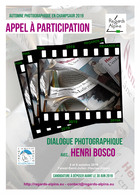 Regards Alpins - Automne photographique en Champsaur - Henri Bosco