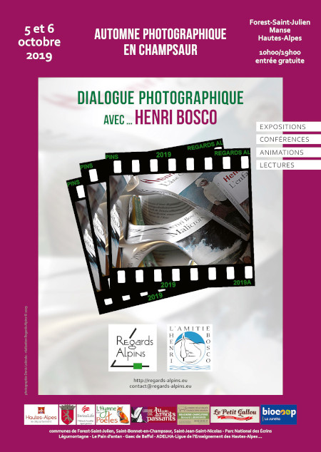 Automne photographique en Champsaur - Regards Alpins - Henri Bosco