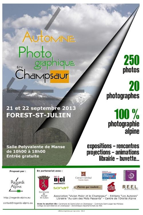 Automne Photographique en Champsaur - Regards Alpins