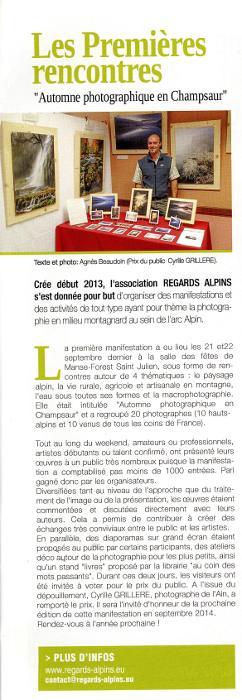 rencontres alpines 2013